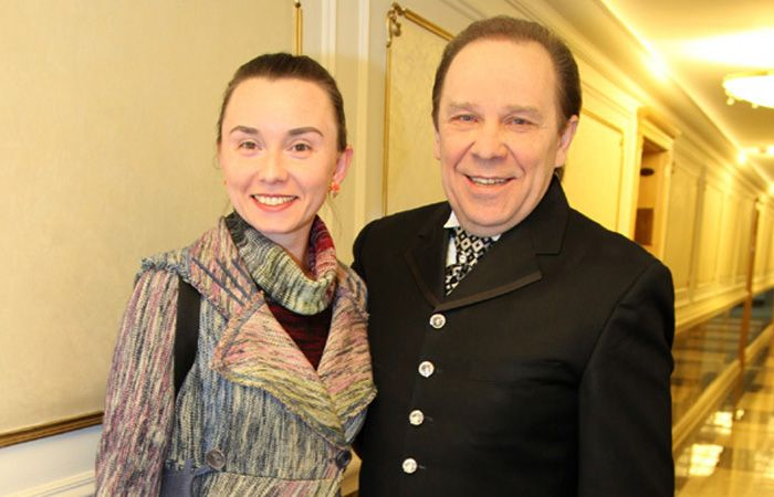 Елизавета Девятова с мужем Владимиром Девятовым