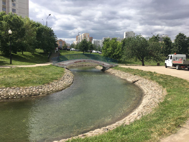 Мосводосток очистил около 240 водоемов от мусора и грязи