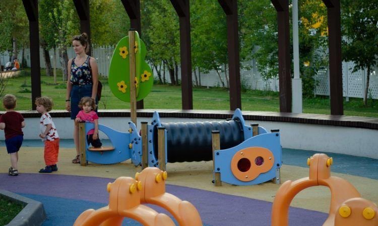 Новая игровая площадка откроется в парке Горького