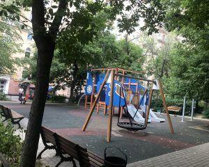 Благоустройство московских дворов