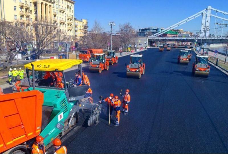 Рублевское шоссе будет обновлено к сентябрю