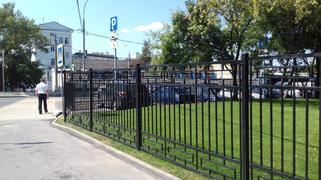 Сквер в районе Дорогомилово