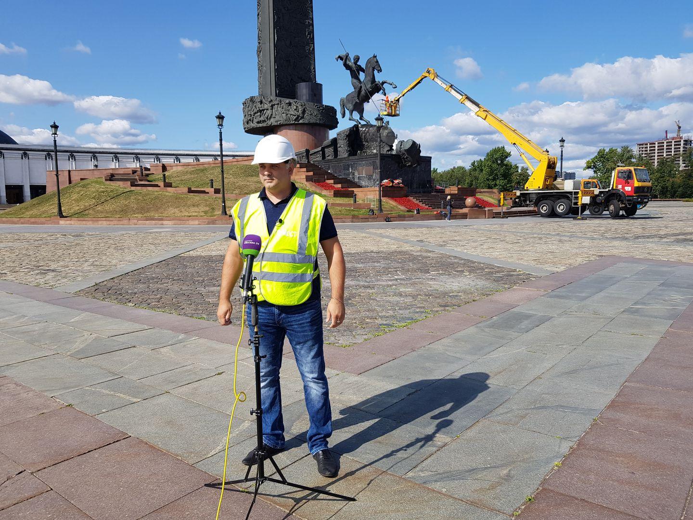 Заместитель начальника специализированного участка ГБУ «Гормост» Александр Яблоков