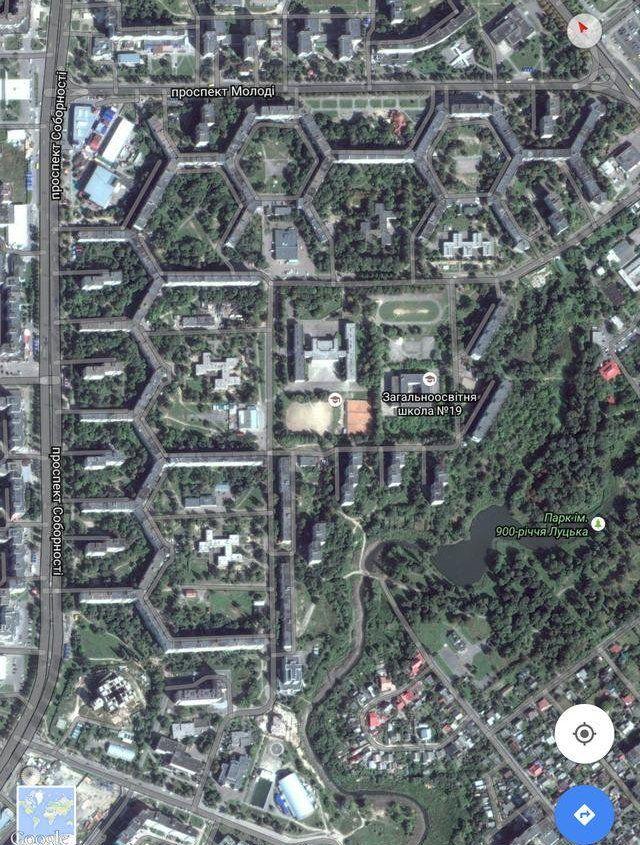 В украинском Луцке построили дом длиной в 3 км