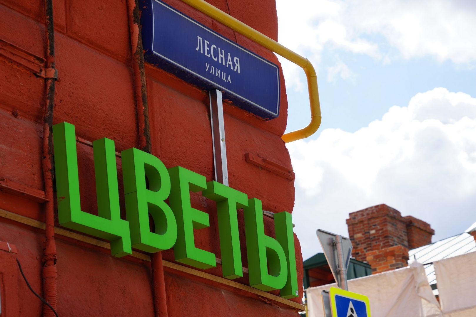 Обновленная Лесная улица