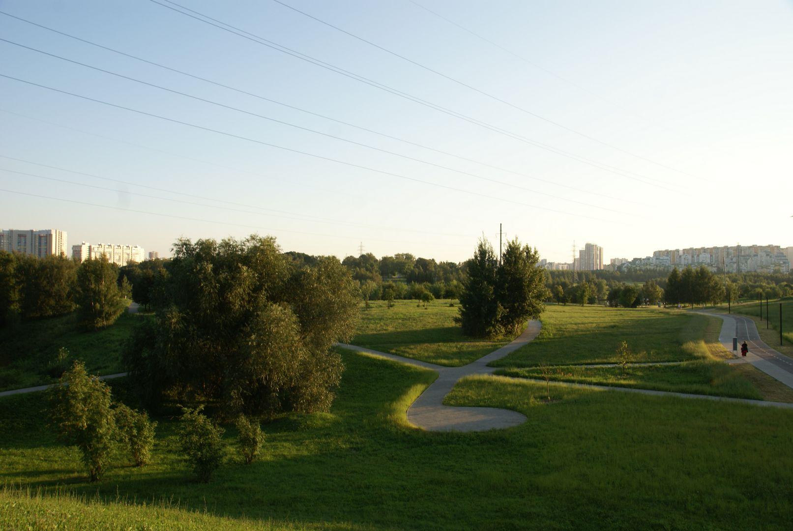 """""""Митино"""" - красивый парк"""