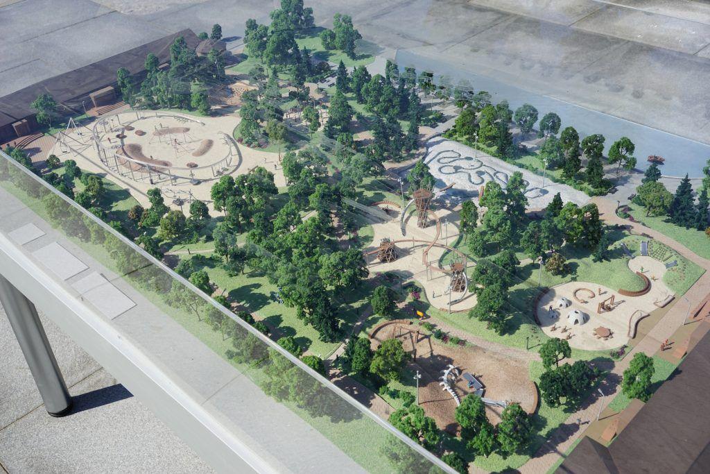 Площадка «Салют» в парке Горького