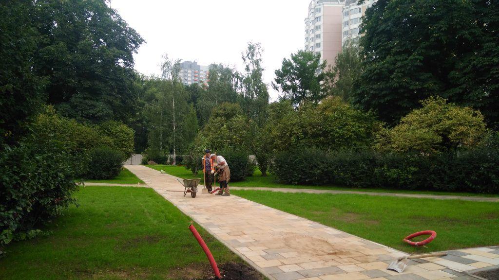 Обновление парка Святослава Федорова