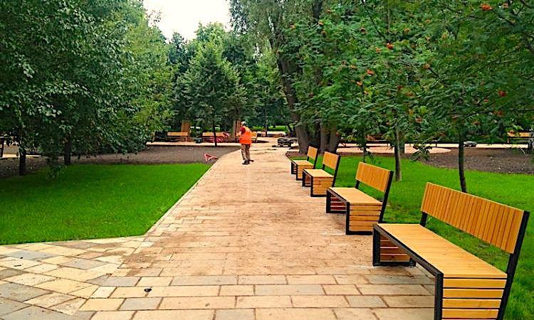 Обновление парка имени Святослава Фёдорова