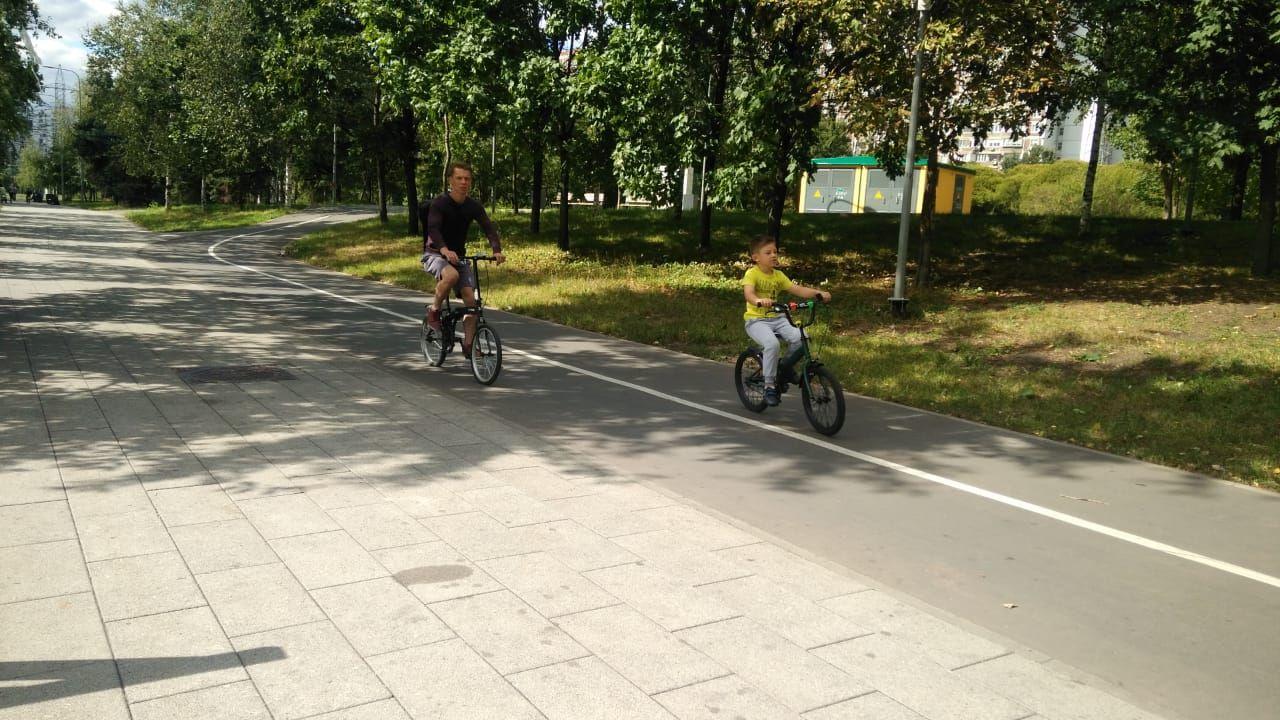 В парке 850-летия города Москвы осенью откроют лыжероллерную трассу длиной 4 км.