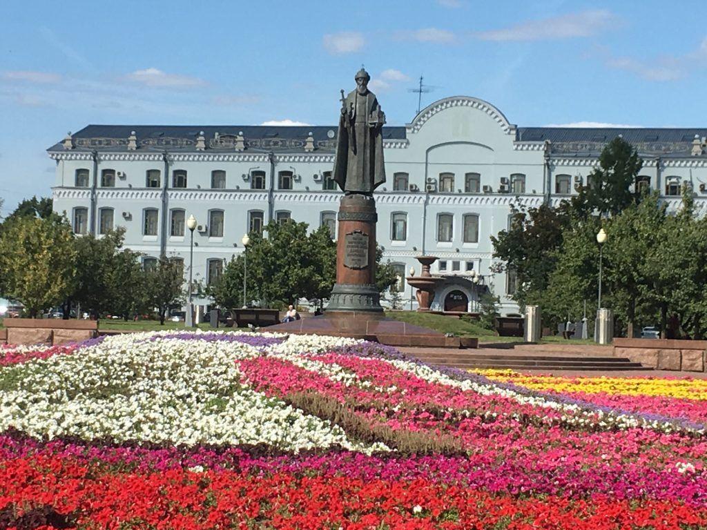 Памятник Даниилу Московскому
