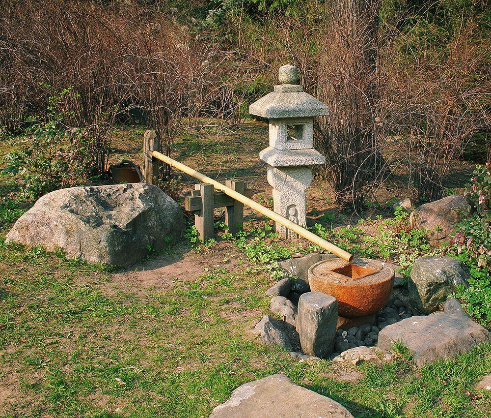 сад камней в Ботаническом саду