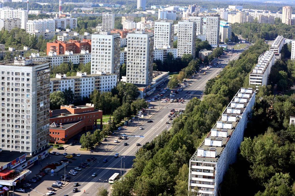 Московский проспект в Зеленограде