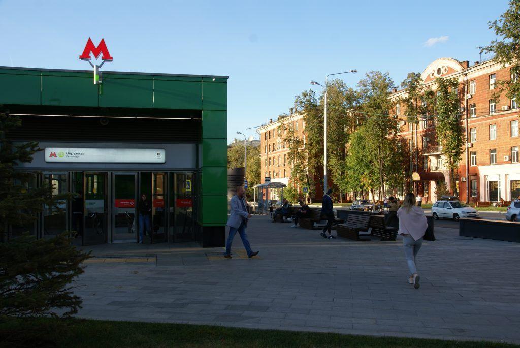 станция метро Окружная