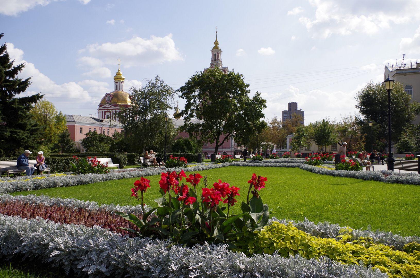 Сад имени Н. Э. Баумана