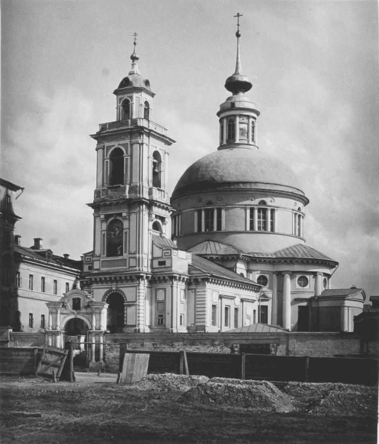 Церковь Спаса Преображения в Глинищах