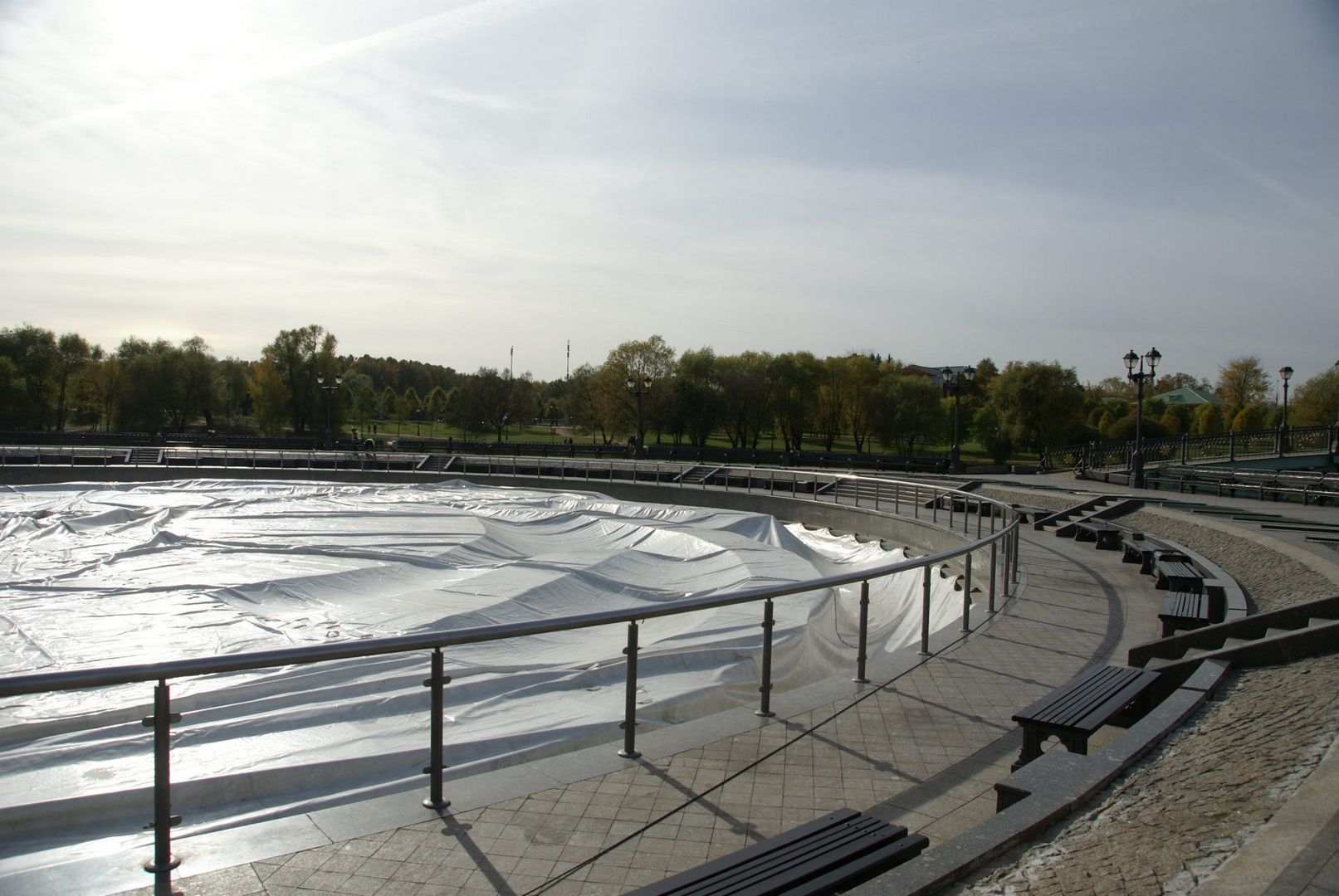 фонтан в Царицыно