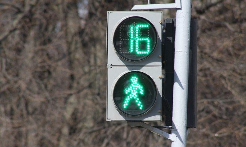 пешеходного светофора