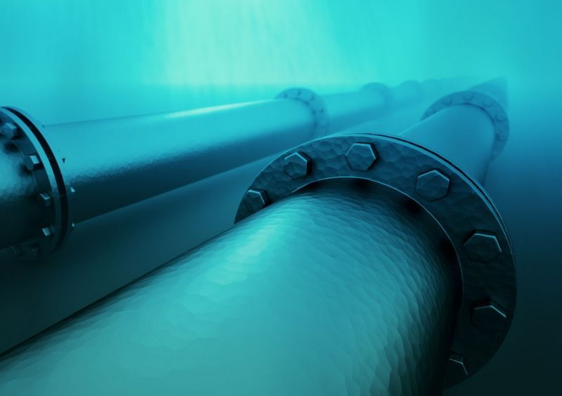 подводный газопровод