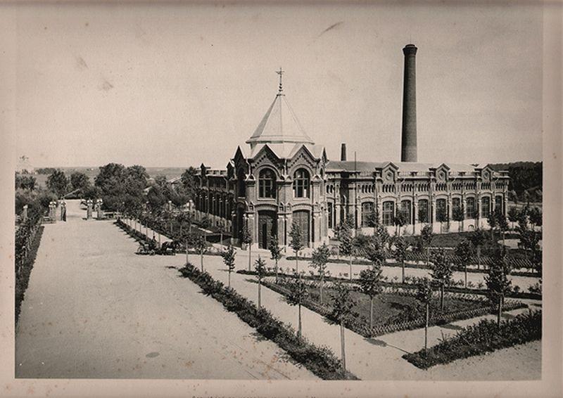 1913 год Алексеевская насосная станция