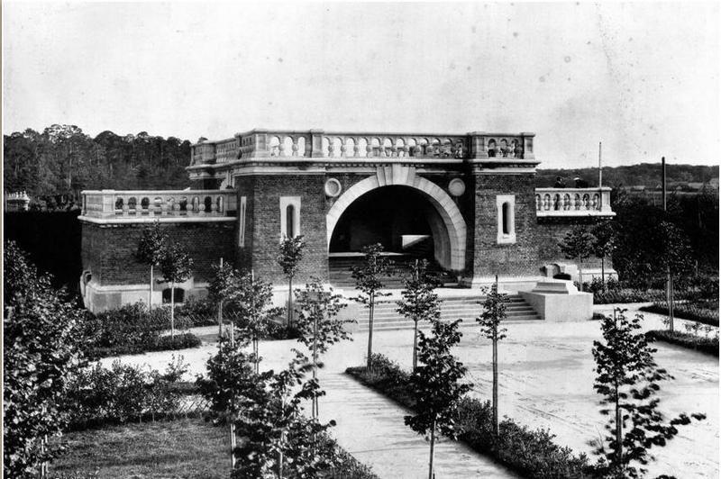 1913 год Алексеевская водопроводная станция, запасной резервуар