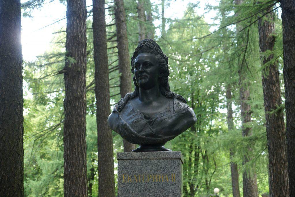 Бюст Екатерины II