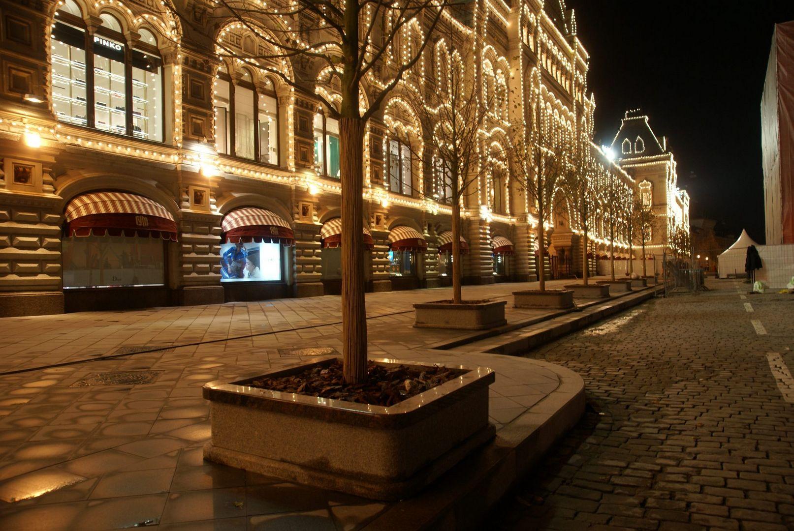 липы на Красной площади