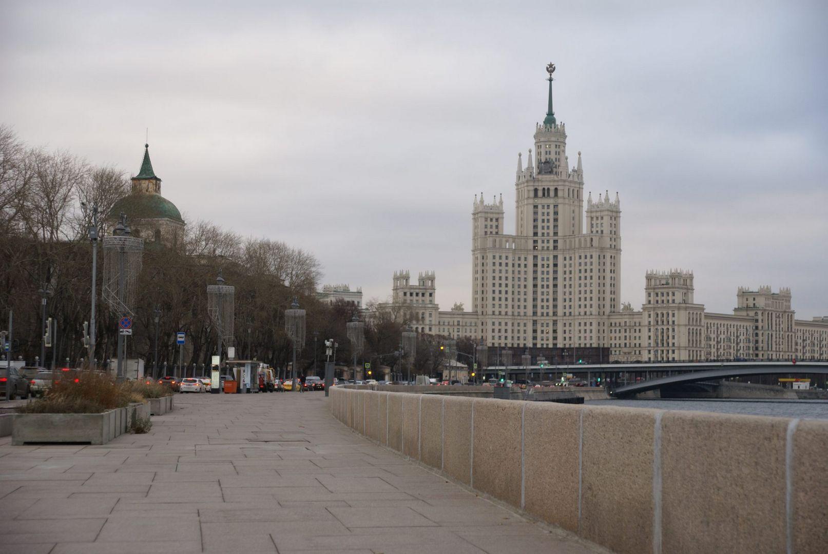 украшение города к новому году