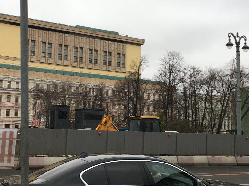 Политехнический музей на реконструкции