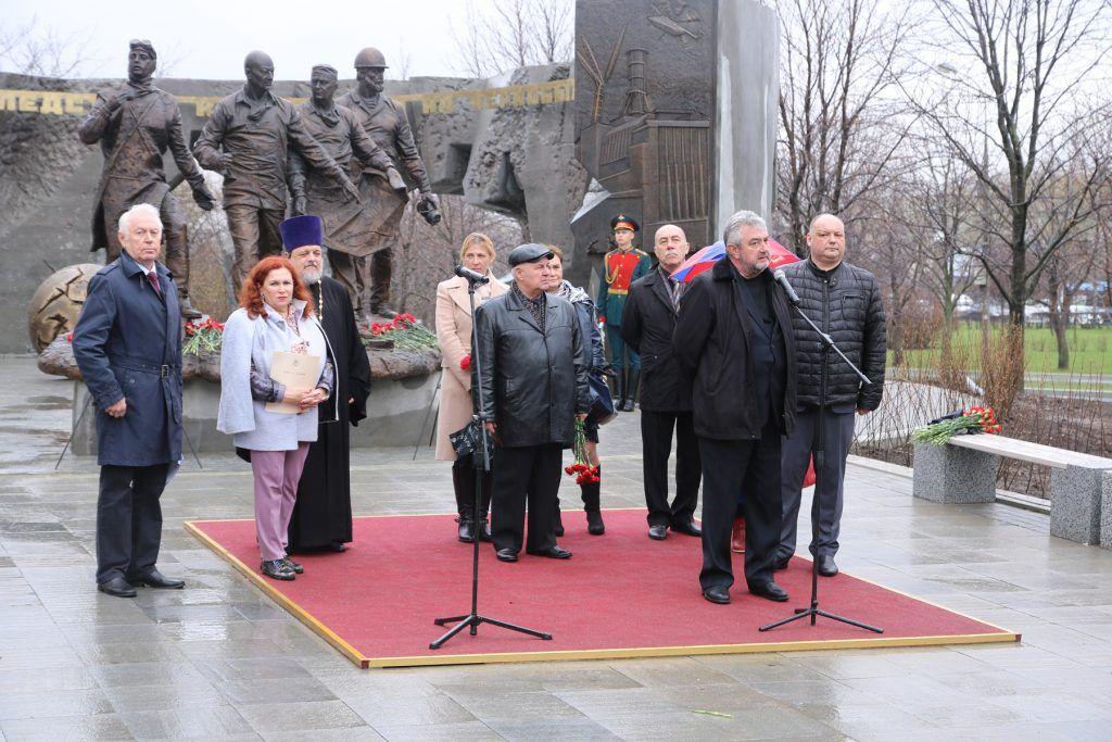 память о героях-чернобыльцах