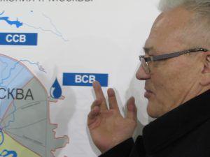 Начальник Управления водоснабжения АО «Мосводоканал» – заместитель генерального директора Е.В. Шушкевич.