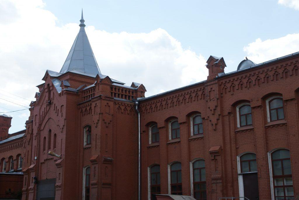 Здание Первой насосной станции в Москве