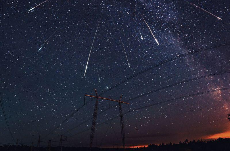 Новости звездопада фото очевидцев