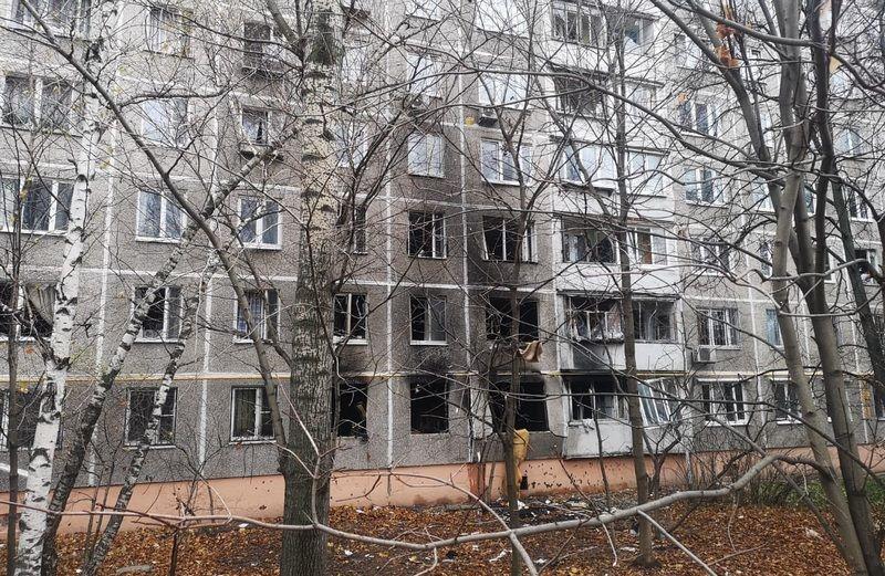 пожар на Островитянова