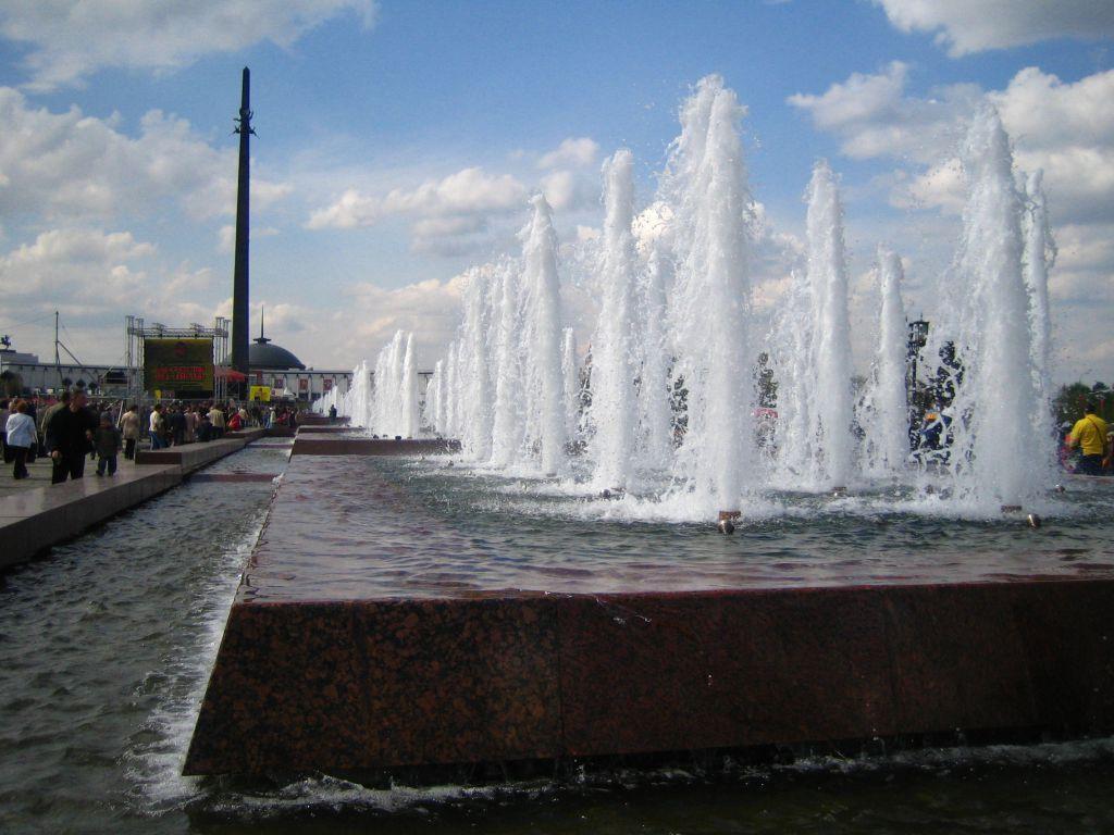 фонтан «Годы войны»