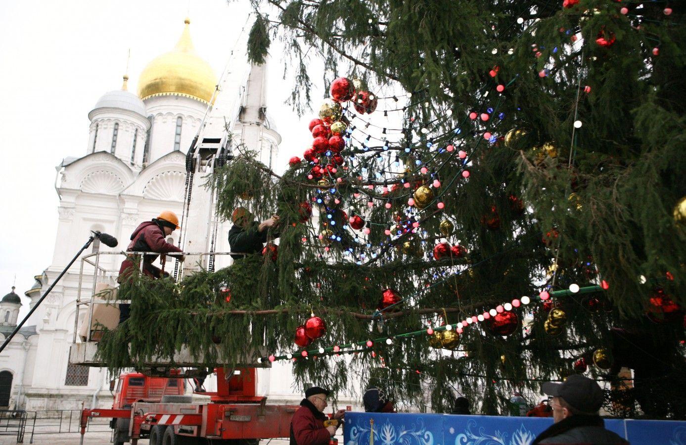 елка Кремля