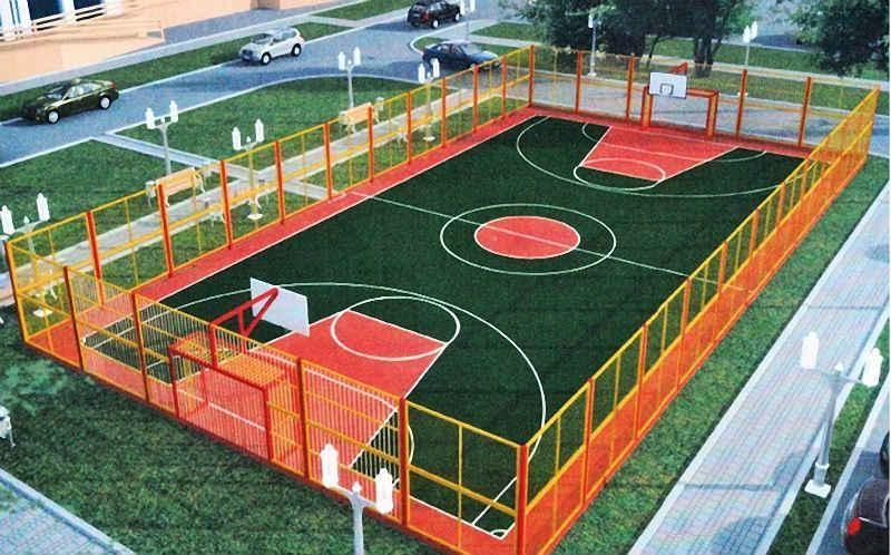 Новую спортивную площадку