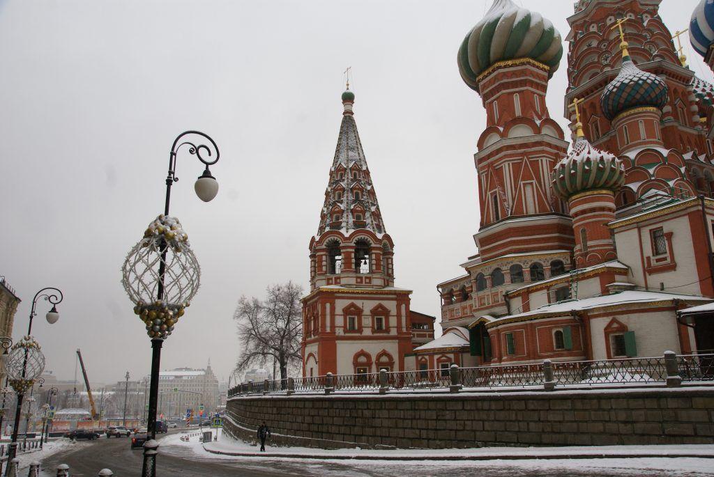 украшение Москвы