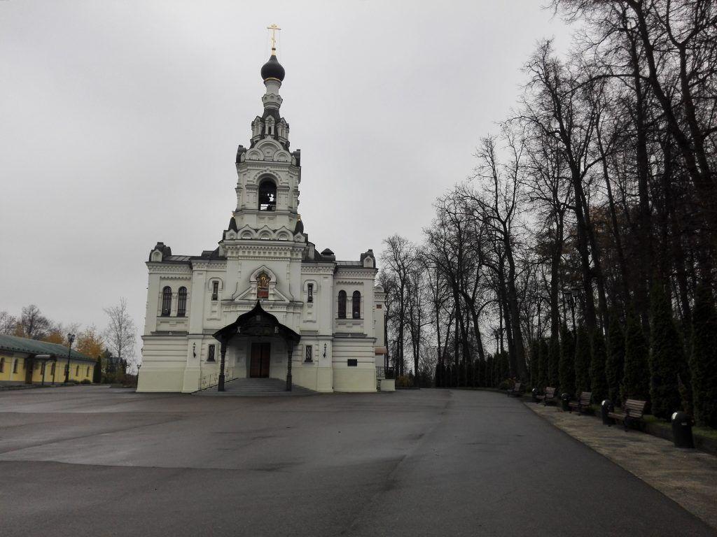 храм Троицы Живоначальной усадьба Троице-Лыково