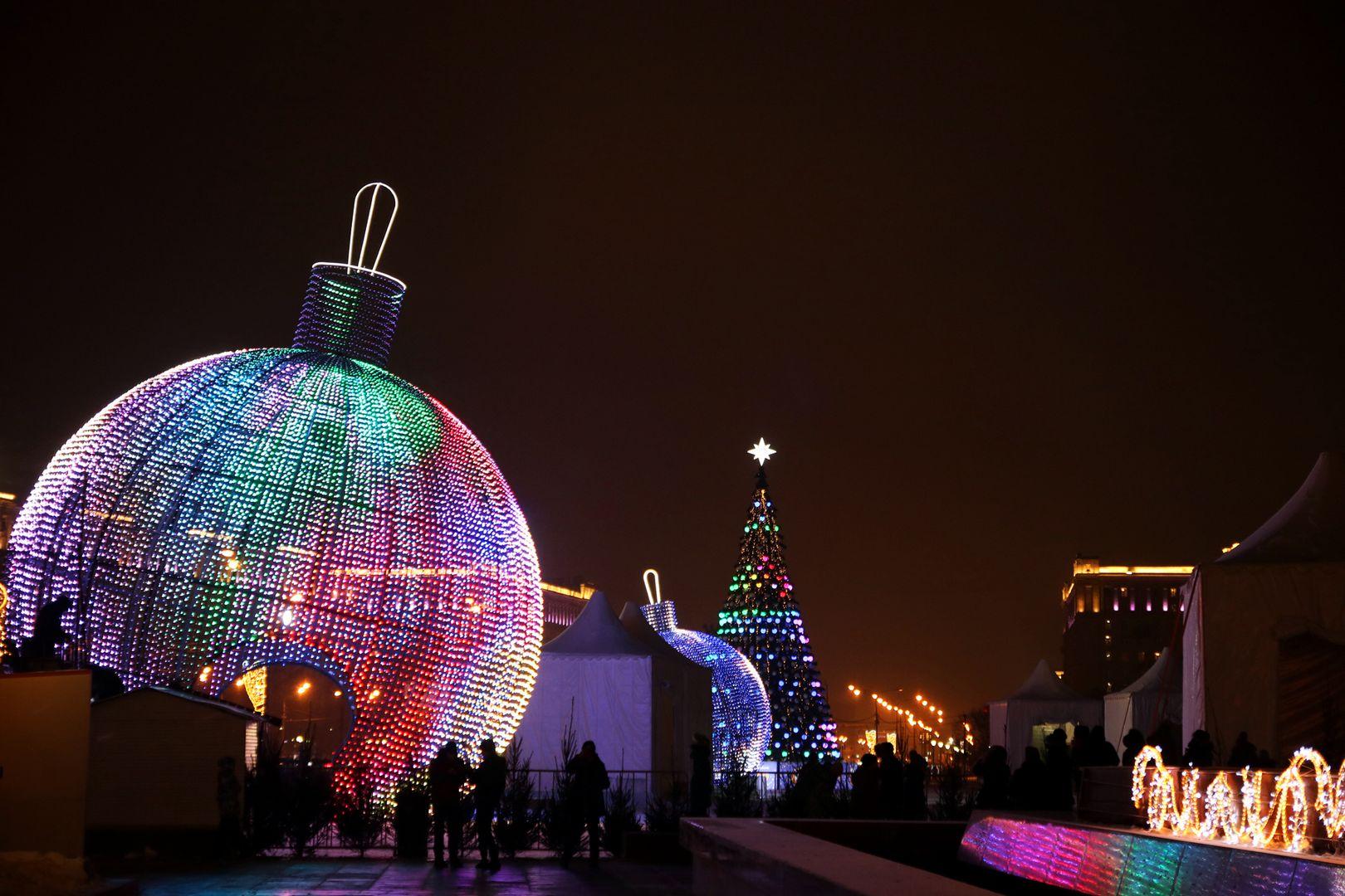 Новый год в парке Победы