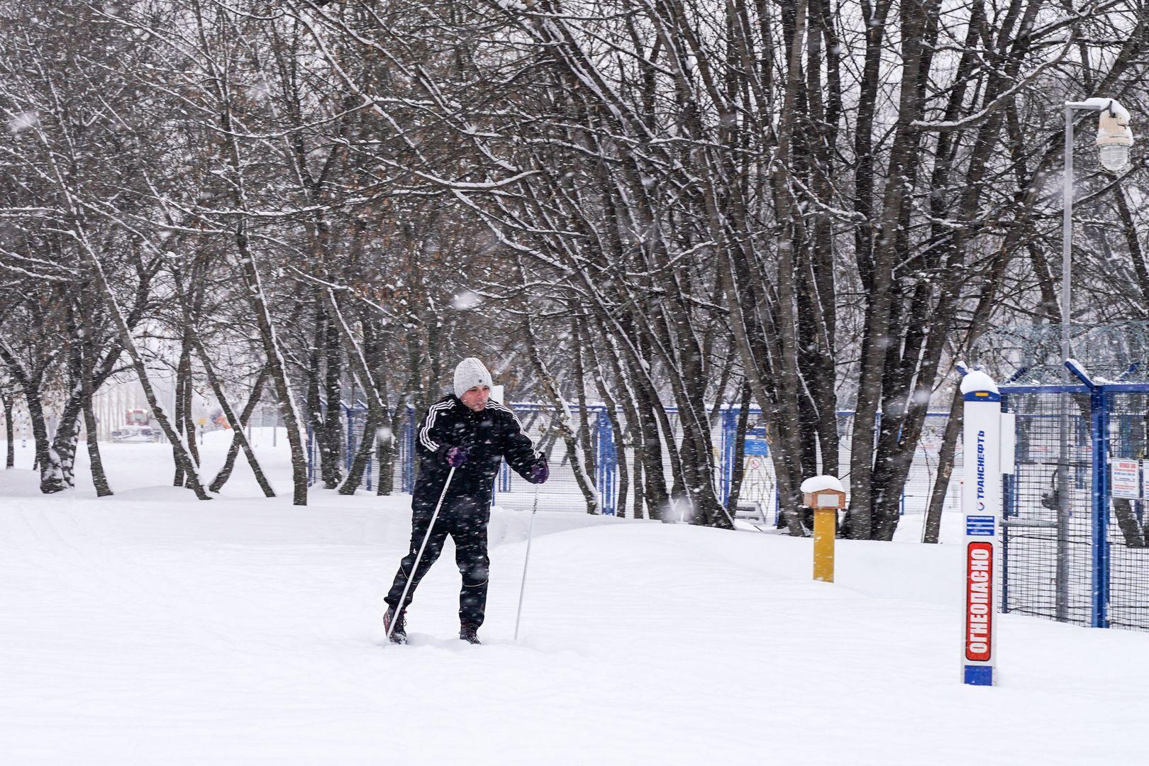 Идеальная лыжня