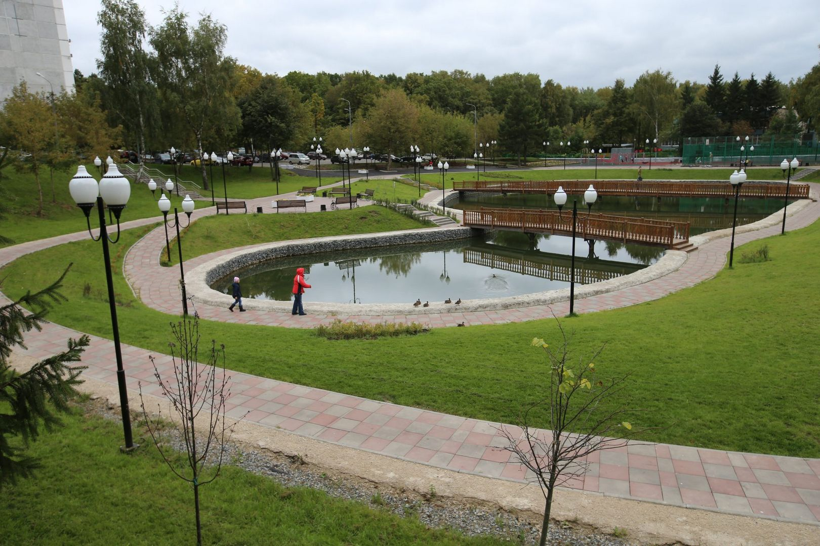парк в ТиНАО