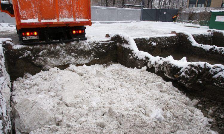 снегоплавильные пункты