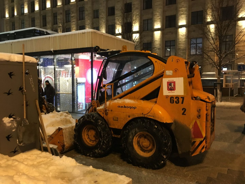 уборка снега техника
