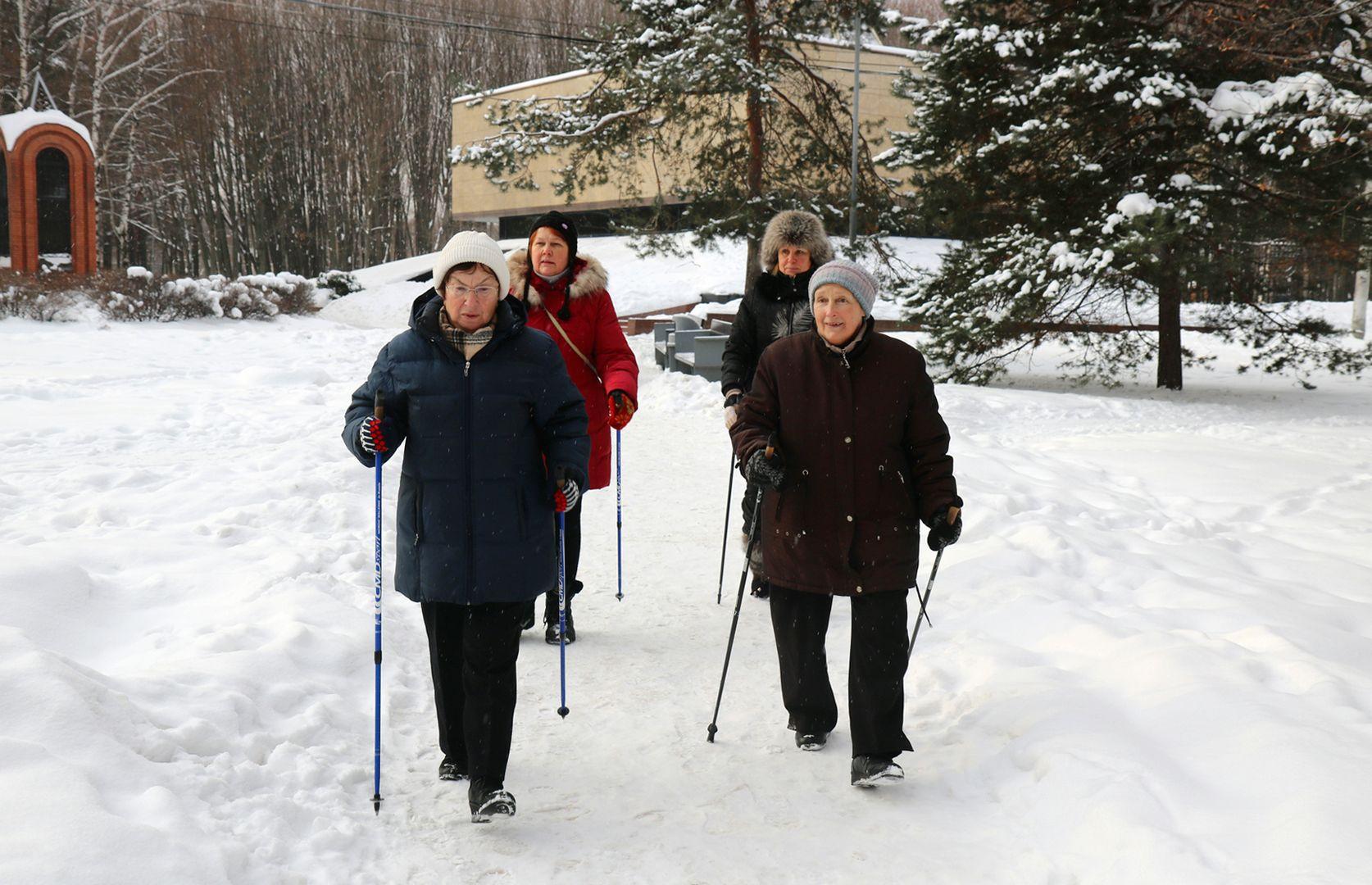 участники Московского долголетия