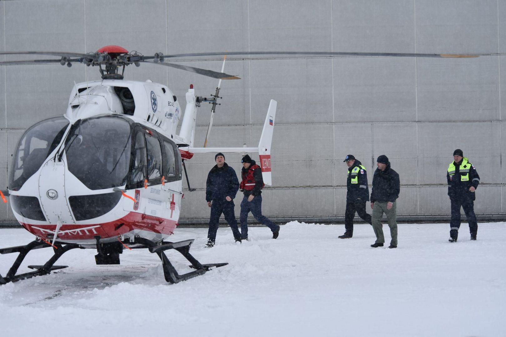 воздушные спасатели