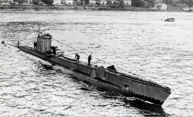 Немецкая подводная лодка u-864