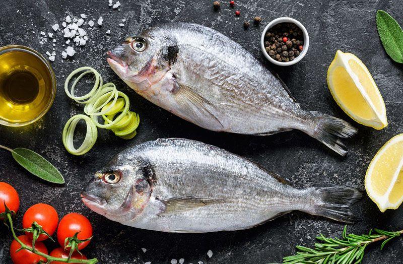 рыба и пряности