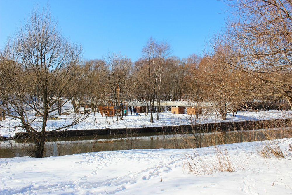 река Яуза, благоустройство