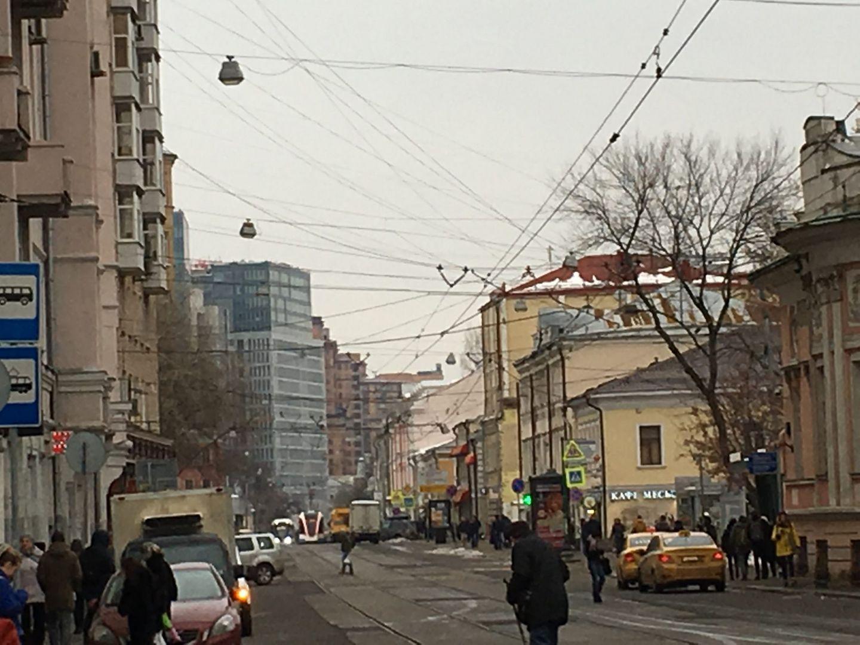 Улочки московские